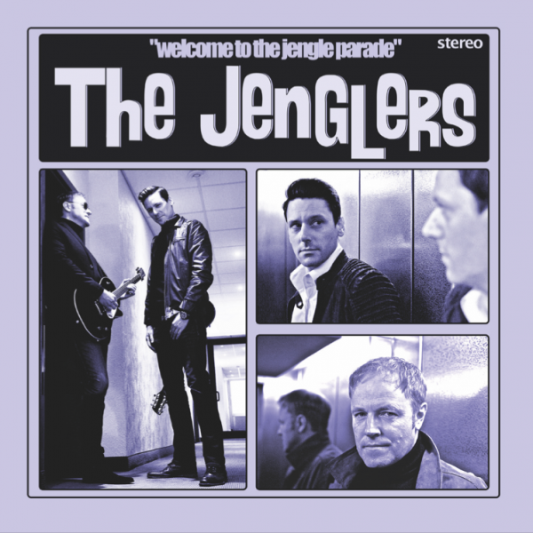 WELCOME TO THE JENGLE PARADE EP front cover