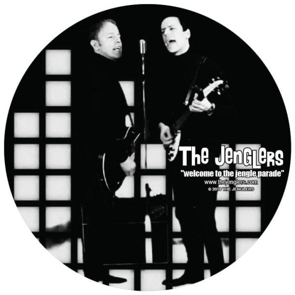 Welcome To The Jengle Parade cover disc optimized for web